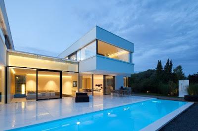 foto rumah minimalis mewah 2 lantai