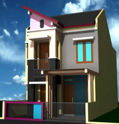 foto rumah minimalis type 36 60 2 lantai
