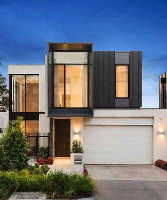 model rumah minimalis type 36 72 2 lantai