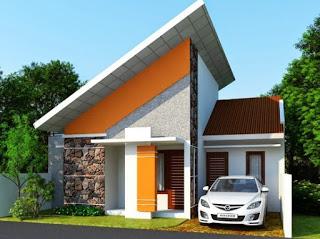 foto rumah minimalis type 36 72 dengan garasi