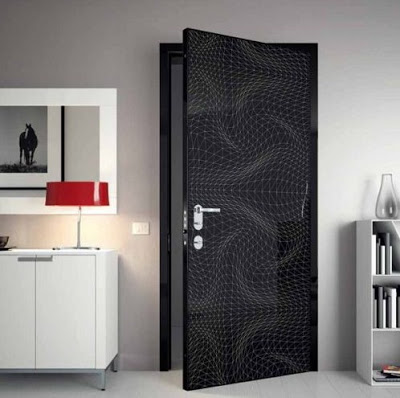 gambar desain pintu kamar rumah minimalis elegan