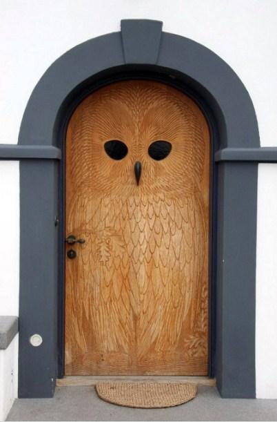 gambar desain pintu rumah minimalis modern ukir kayu