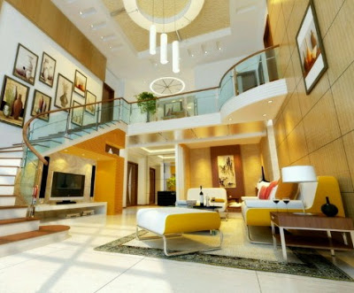 gambar interior Rumah Mewah 2 Lantai