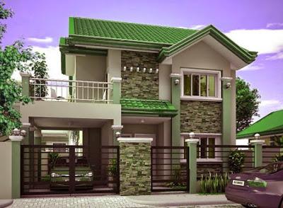 gambar model rumah terbaru sederhana