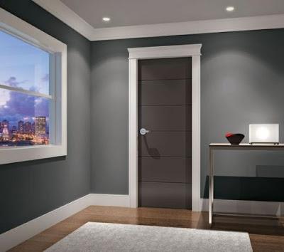 gambar pintu kamar tidur rumah minimalis terbaru