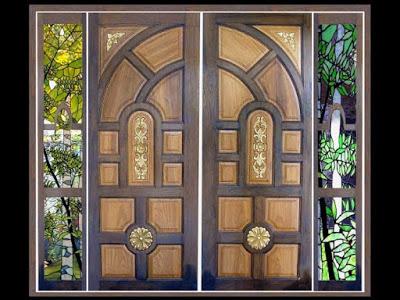 gambar pintu rumah minimalis 1 lantai kupu tarung