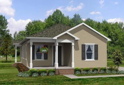 gambar rumah kayu minimalis modern