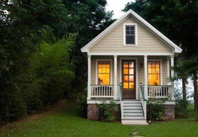 gambar rumah kecil sederhana dari kayu