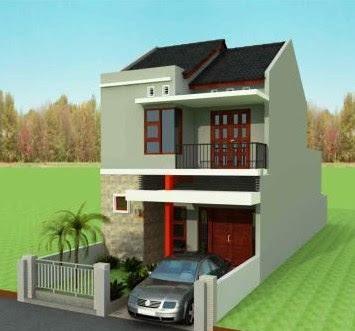 gambar rumah minimalis type 36 60 2 lantai