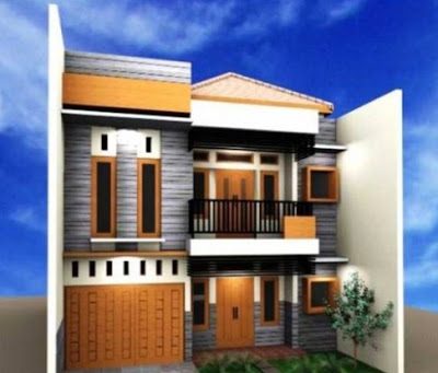 foto rumah minimalis type 36 72 2 lantai