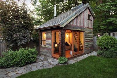gambar rumah sederhana dari kayu