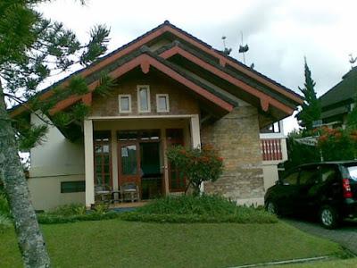 gambar rumah sederhana di kampung khas villa