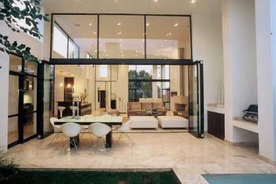 interior desain Rumah Mewah 2 Lantai