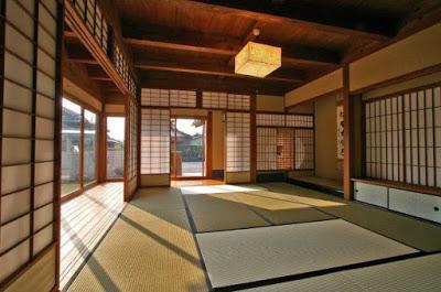 interior rumah idaman dari kayu jepang