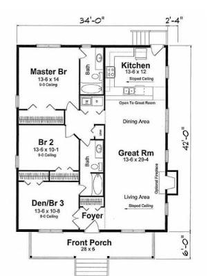 interior rumah minimalis type 36 1 lantai
