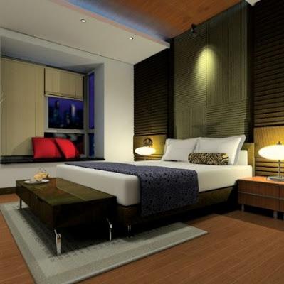 isi kamar rumah mewah minimalis