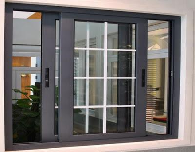 gambar jendela geser rumah minimalis