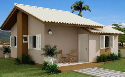 model Rumah Idaman Sederhana Di desa Keren 2017