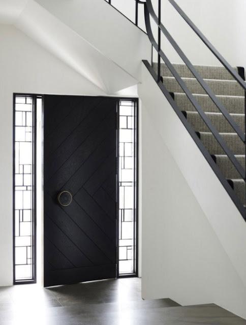 model pintu depan rumah minimalis modern