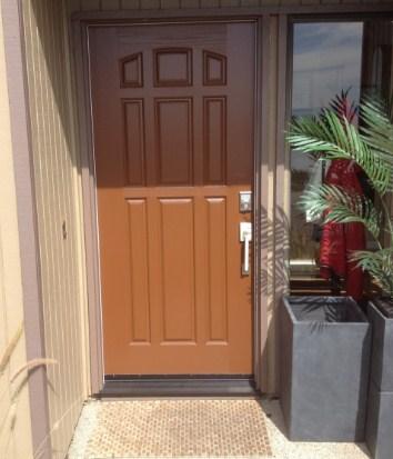 model pintu rumah minimalis sederhana