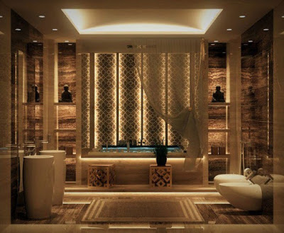 model plafon kamar mandi modern