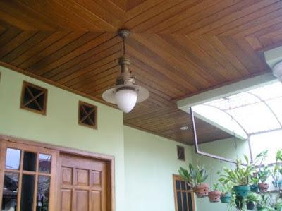 model plafon teras minimalis