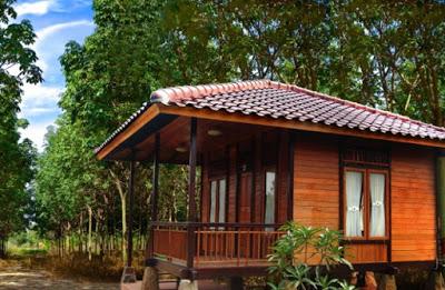 model rumah kayu sederhana