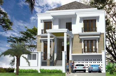 model rumah minimalis 2 lantai type 70