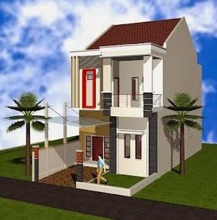 model rumah minimalis type 36 60 2 lantai