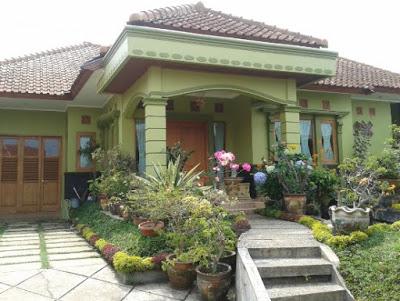 rumah idaman sederhana hijau