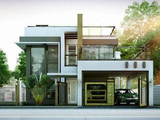 gambar rumah minimalis 2 lantai