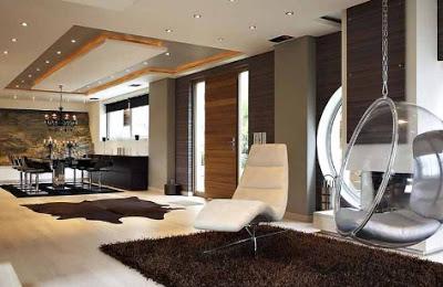 rumah mewah minimalis dan isinya