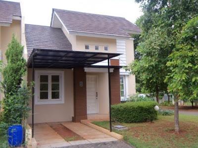 rumah sangat sederhana di desa yang layak