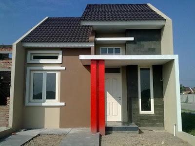 warna cat abu-abu rumah minimalis type 36 60
