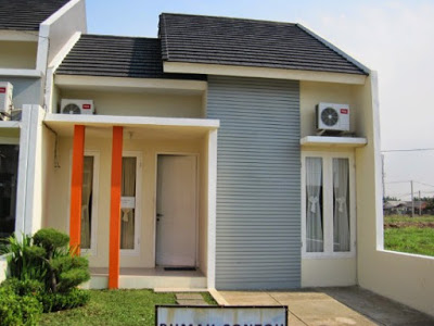 warna cat krem rumah minimalis type 36 60