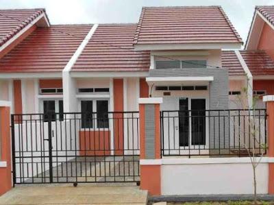 warna pink rumah minimalis type 36 60