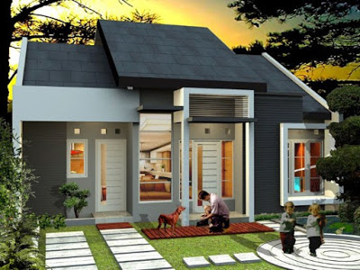 warna putih cat rumah minimalis type 36 60