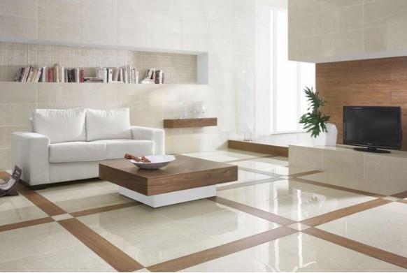 Warna Keramik Ruang Tamu Rumah Minimalis