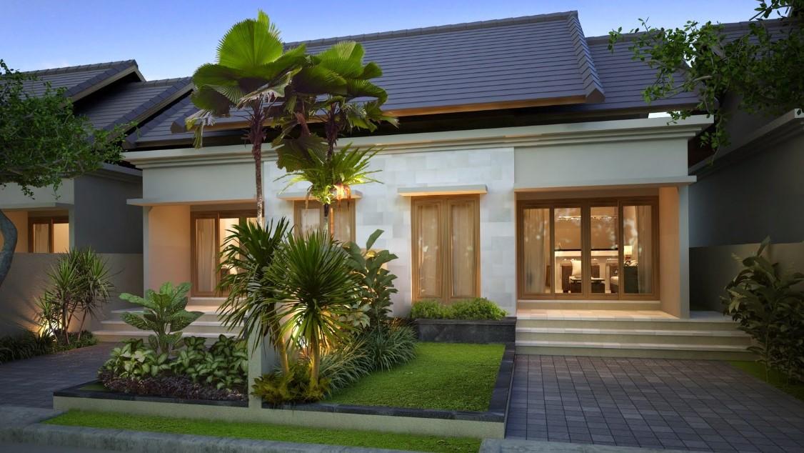 Fasad Rumah Tropis Minimalis Yang Ideal